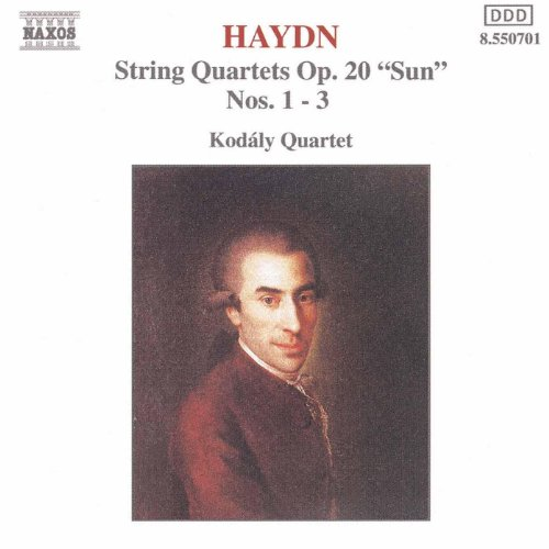 Amazon.com: Haydn: String Quartets Op. 20, Nos. 1- 3, 'Sun Quartets