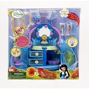 Amazoncom Disney Fairies Silvermists Secret Jewelry Box with Mix