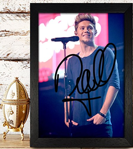 Framed Niall Horan Signed Autographed Photo Reprint Rp Pp - One Direction