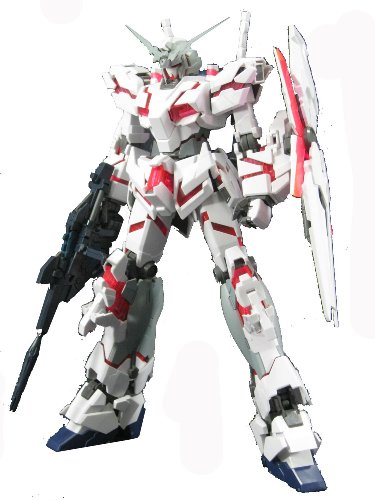 Price comparison product image Bandai Hobby RX-0 Unicorn Gundam HD Color with MS Cage Master Grade Figure,  Scale 1 / 100