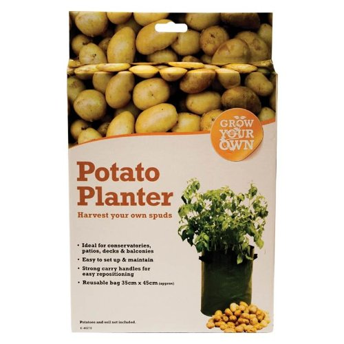4 x Potato Planters Grow Your Own Vegetables Grow Bag For Patio Balcony Decking Greenhouse