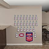 NHL Montreal Canadiens Stanley Cup Collection Real Big Wall Decals