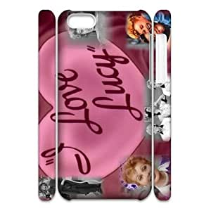 YUAHS(TM) Unique Design 3D Cell Phone Case for Iphone 5C with I Love Lucy YAS408116