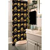 NCAA University of Iowa Decorative Bath Collection - Shower Curtain
