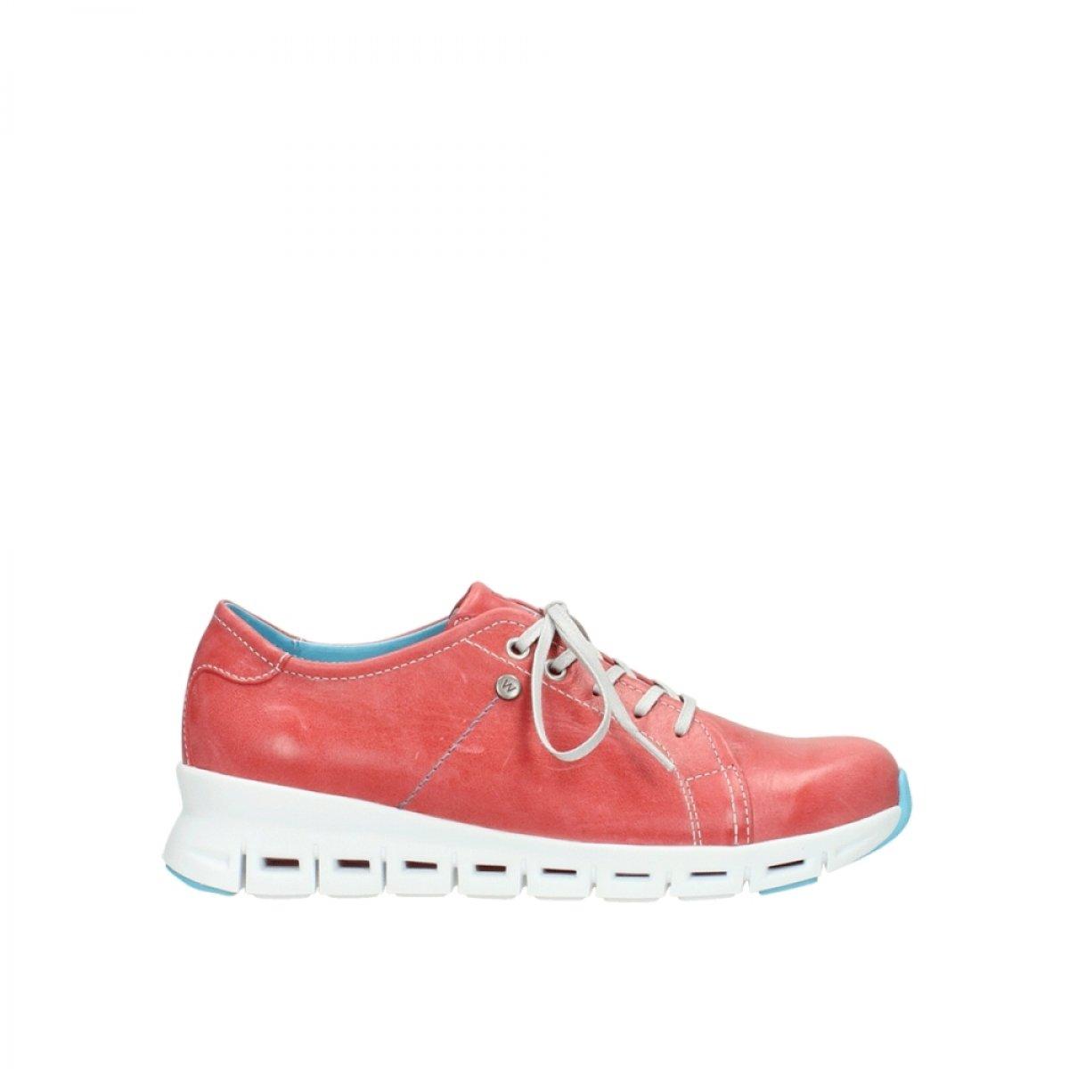 Wolky 2051357 - Zapatos de cordones para mujer 39 EU|Rojo