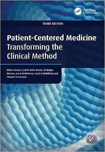 Patient-centered Medicine: Transforming The Clinical Method por Moira Stewart epub