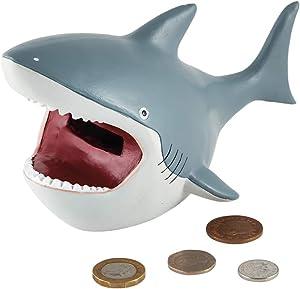 Floss & Rock Deep Sea Shark: Resin Money Bank Standard