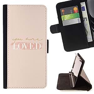 Momo Phone Case / Flip Funda de Cuero Case Cover - Etes Self Help Peach Motivation - Samsung Galaxy S3 III I9300