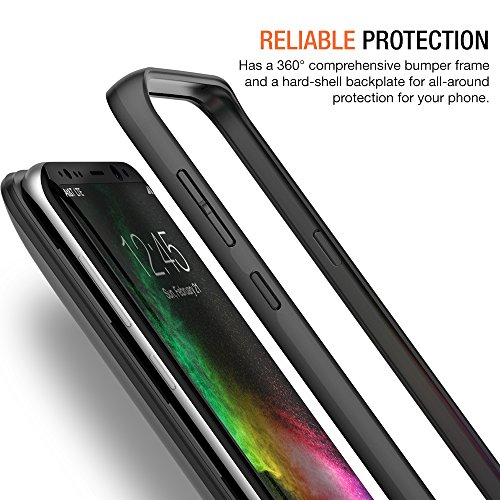 Galaxy S8 Battery Case, Trianium Atomic Pro s8 Charging Battery Pack for Samsung Galaxy S8 5.8-inch Phone - 4500mAh Extended Battery Fast Charger [Quick Charge Pass-Thru] Protective Case Power Pack by Trianium (Image #4)