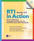 RTI in Action Grades 3-5, Froma P. Roth and Patricia Iafrate Bellini, 1580410871