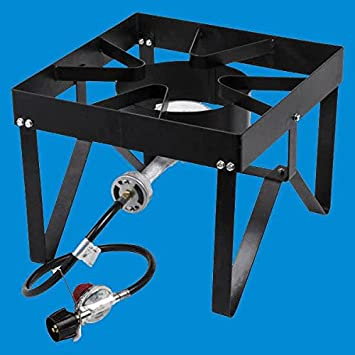 Backyard Pro Square Single Burner Outdoor Patio Stove / Range