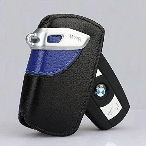 SZMWL Sport Line Key Case FOB Holder Fits BMW 2 3 5Series X3(Blue)