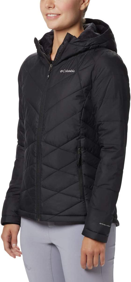 Columbia Women's Heavenly Hooded Winter Jacket, Insulated