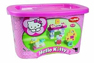 BIG PlayBIG Bloxx Hello Kitty 57022 - Juego de construcción (73 piezas) [importado de Alemania]