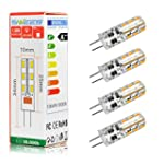 Swees� 4X G4 12V AC/DC 1.5W 24 LED 30...