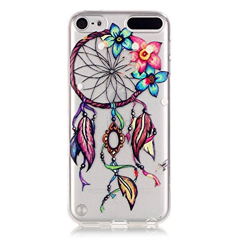 Price comparison product image Urberry Touch 5 Case, Ipod Touch 6 Cover, Soft Slim Back Case for Ipod Touch 5/6 with a Phone Bracket