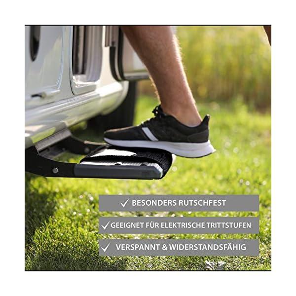 51bc7J2bB5L FAIRMO Wohnmobil Trittstufen Fußmatte - Premium Teppich - Zubehör individuell passend - Clean Step Wohnwagen - Camping…