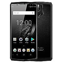 OUKITEL K10 - FHD 6.0 pollici (18: 9 tutti gli schermi) Smartphone Android 4G, batteria 11000mAh e carica rapida 5 V / 5 A, Octa Core 2.0 GHz 6 GB + 64 GB, quattro fotocamera, Riconoscimento viso - Oro