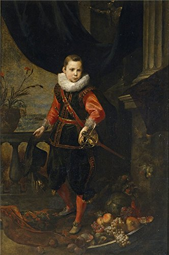 Oil Painting 'Roos Jan I Retrato De Un Joven First Third Of 17 Century ' Printing On High Quality Polyster Canvas , 18 X 27 Inch / 46 X 69 Cm ,the Best Garage Gallery Art And Home Decor And Gifts Is This High Quality Art Decorative Canvas Prints