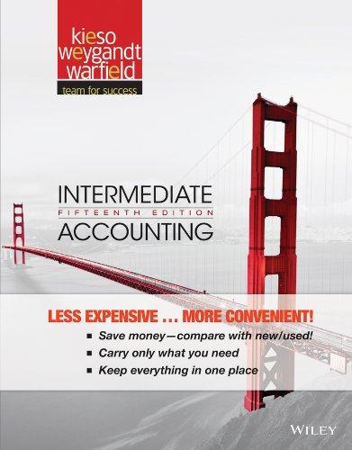 Intermediate Accounting (Best Big 4 Accounting Firm)
