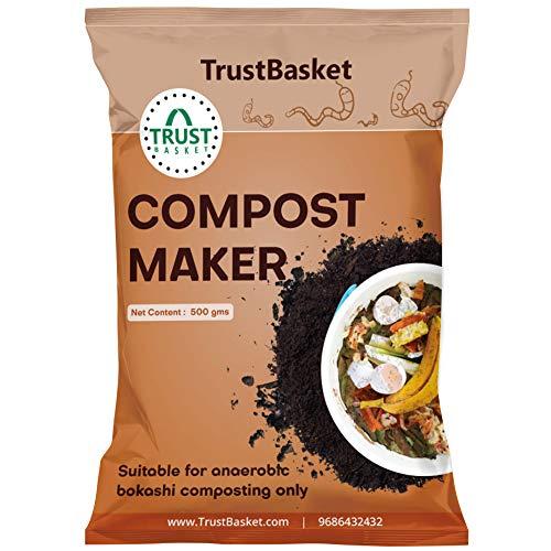 TrustBasket BOKASHI Compost Maker Powder, 500gms