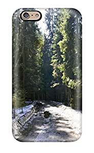 Andrew Cardin's Shop New Style 8127125K50301969 Top Quality Case Cover For Iphone 6 Case With Nice Snow Path Appearance