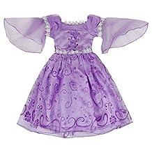 Katara Rapunzel or Sofia Costume-Girl's Dress
