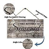 Farmhouse Kitchen Decor, Rustic Kitchen Signs Wall