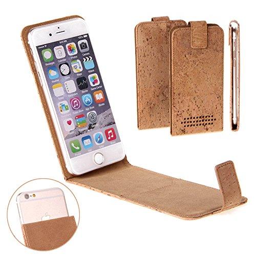 Korkhülle Flipstyle Case Schutzhülle für Apple iPhone 6s Plus, Kork Case Hülle Flip cover Smartphone Tasche - K-S-Trade (Wir zahlen Steuern in Deutschland!)