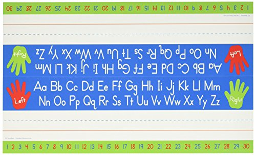 (Teacher Created Resources 5723 Left Right Alphabet Tented Name Plate)