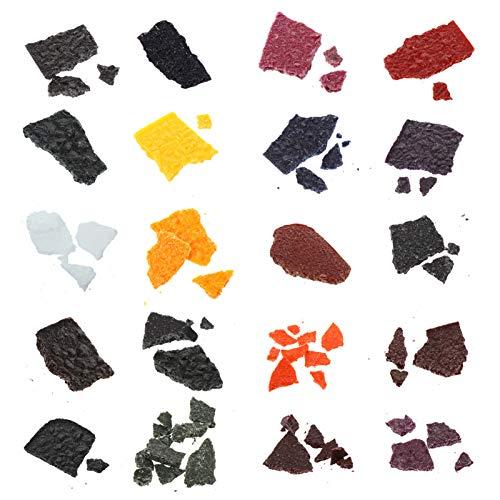 ULTNICE 20 Stks Wax Dye Voor Kaarsen Maken Soja Wax Dye Kaars Kleurstoffen Kleur Chips Voor Kaarsen Maken Levert…