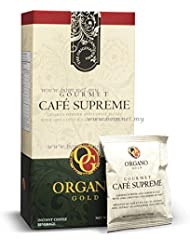 30 Box Of Organo Gold Cafe Supreme 100 Certified Ganoderma Extract Sealed