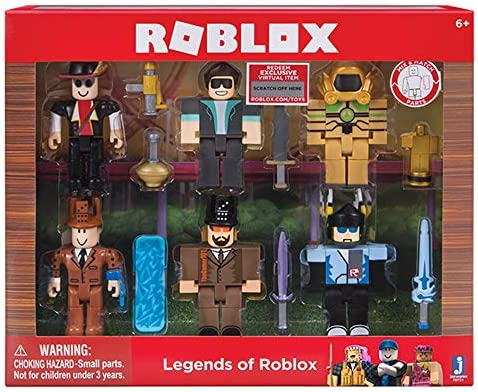 Amazon Com Roblox Action Collection Legends Of Roblox Six