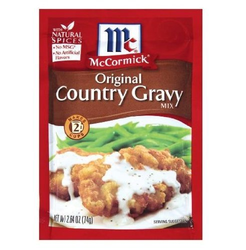 (McCormick Original Country Gravy Mix (Pack of 4) 2.64 oz)