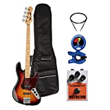 Dean Guitars PACGTSJUGGRNTRT Juggernaut 4-String Bass Power Pack, 3-Tone Tobacco Sunburst Finish