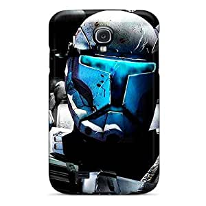 VIVIENRowland Samsung Galaxy S4 Bumper Cell-phone Hard Covers Provide Private Custom High-definition Stormtrooper Series [Acs17704gvUN]
