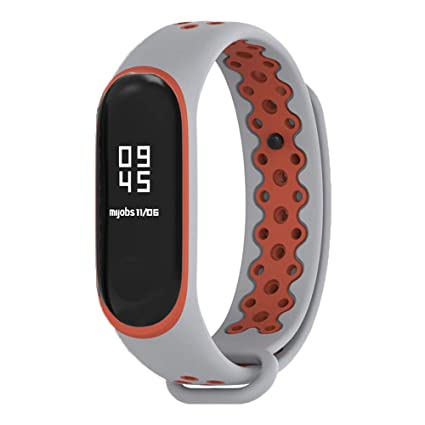 Amazon.com: Xihama Correa de reloj para Xiaomi mi Band 3 ...
