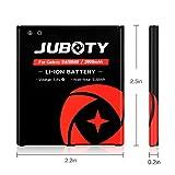 JUBOTY Galaxy S4 Batteries/2X 2600mAh Replacement