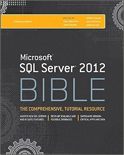 Beginning Microsoft Sql Server 2012 Programming Pdf