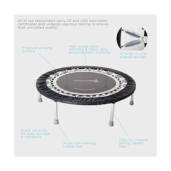 High Quality Professional Gym Rebounder for Home Robust Trampoline for Adult New