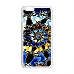 Colorful Flowers Slim Soft Cover for iPhone 6 Plus Case ( 5.5 inch ) TPU White Cases