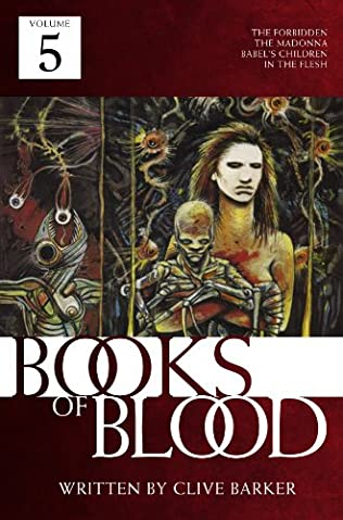 book cover of Books of Blood Volume 5