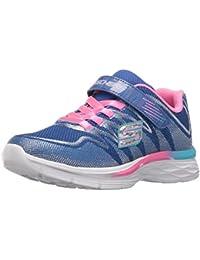 Kids Girls Dream N' Dash Whimsy Girl Velcro Strap Sneaker