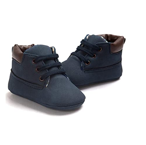 2bcc12a7cda Kitty Baby Boy Suede Leather Blue Kids Casual Shoes 6-12 Months ...