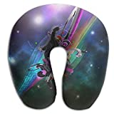Neck Pillow With Resilient Material Pop Space Dance U Type Travel Pillow Super Soft Cervical Pillow