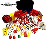 LOTO Osha Lockout Tag Out Kit Electrical Mechanical Kit Multi Colour