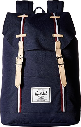 Herschel Supply Co. Unisex Retreat Peacoat/Windsor Wine/White One Size