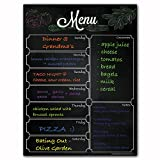 Magnetic Menu Dry Erase Weekly Meal Planner Refrigerator Board With Grocery List And Notes (Menu Blackboard)