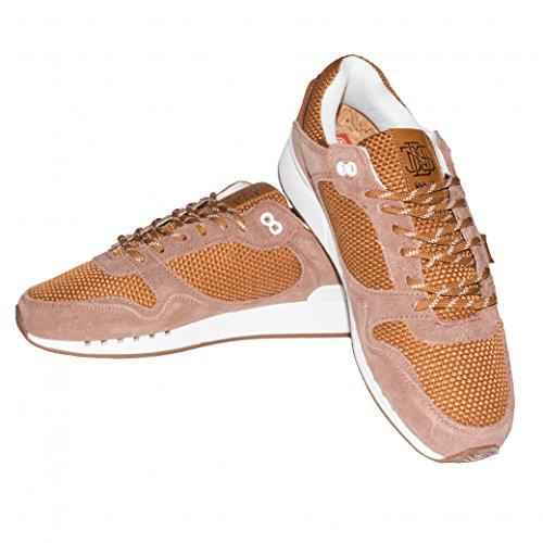 Djinns Schuhe Easyrun Nr2 Jute, Größe:44, Farbe:cognac