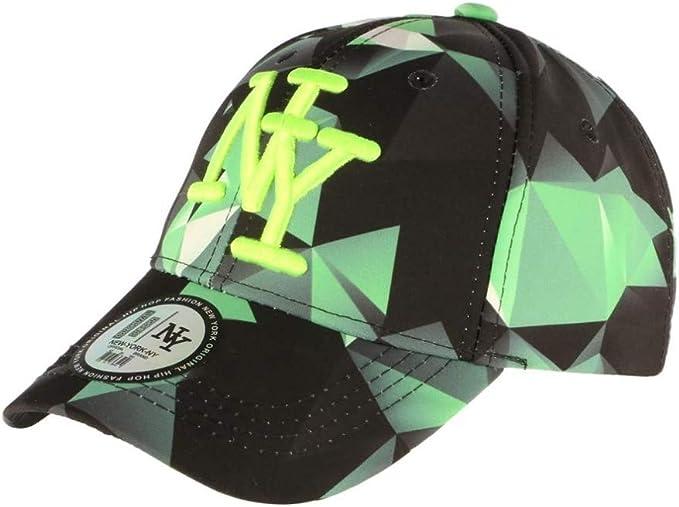 Hip Hop Honour - Gorra de béisbol, Color Verde y Negro Verde ...